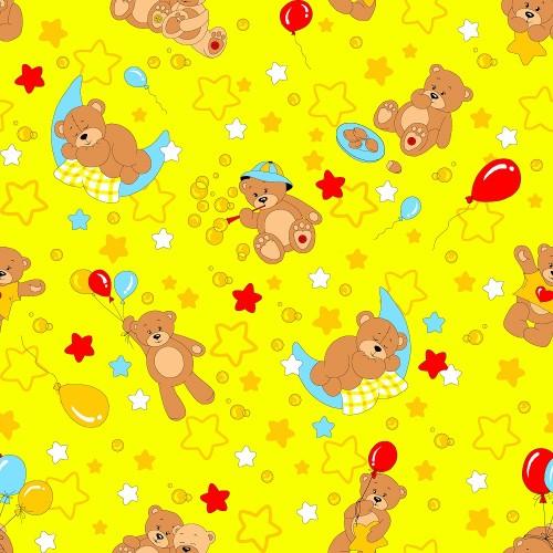 350-5 Мишки желт.