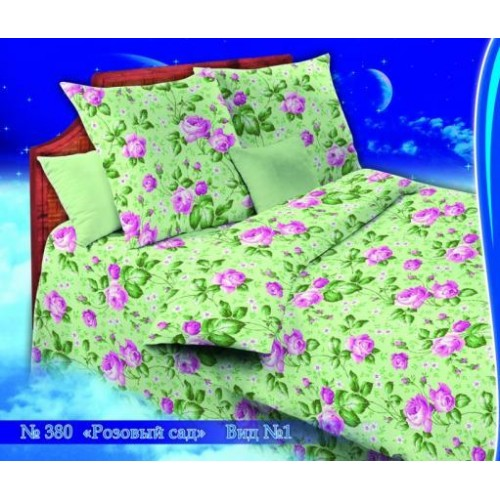 380-1 розовый сад зел.